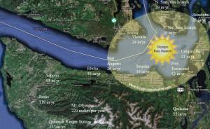 The Olympic Peninsula Rainshadow