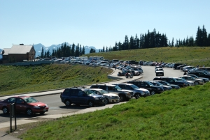Hurricane Ridge Parking